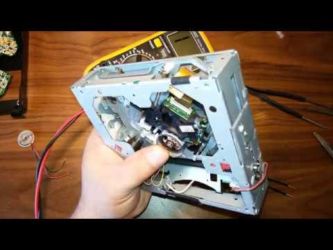 Ремонт DVD привода автомагнитолы