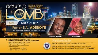 RCCG Canada Holy Ghost - Toronto 2018: June 8th 2018