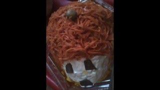 Салат ЁЖИК ( печень и морковь по-корейски)