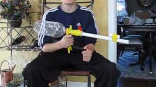 How to Make a high powered Nerf Rifle( Tutorial )