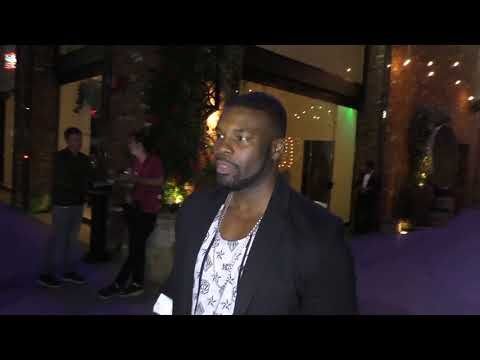 Amin Joseph talks about the drug lifestyle from his role on Snowfall outside TAO Restaurant in Holly