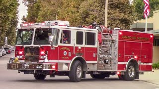 (🔔 Bell) Ontario Fire Dept. Medic Engine 131 & AMR Amb.
