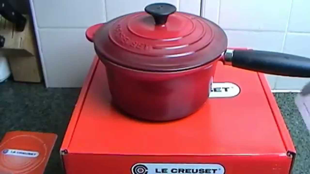 Le creuset cast iron saucepan set - Le Creuset Cast Iron Saucepan Casserole 18cm 1 8l Review