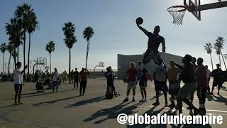 $100 Dunk Challenge at Venice Beach