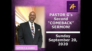 September 20, 2020 - Sunday Morning Worship