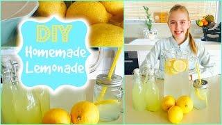 Delicious And Easy Homemade Lemonade Recipe 💗  Diy  Lemonade 💗 Summer Drink