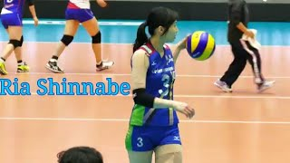 Sexy and cute!! Risa Shinnabe player volleyball japan..