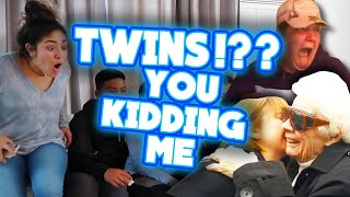 twins!! Best funny & heart warming Twins pregnancy reveal compilation part 1
