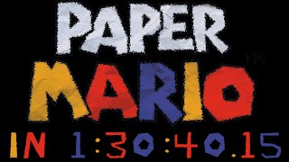 (TAS) Paper Mario any% in 1:30:40.15 by Malleo