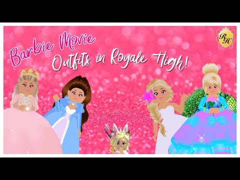 Making Barbie Movie Outfits in Royale High! Princess and the Pauper, Island Princess + more!