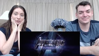 Marvel Studios' AVENGERS: ENDGAME - Official Trailer Reaction