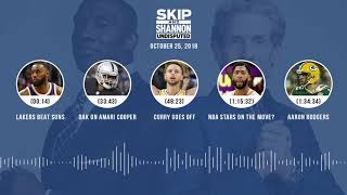 UNDISPUTED Audio Podcast (10.25.18) with Skip Bayless, Shannon Sharpe & Jenny Taft | UNDISPUTED