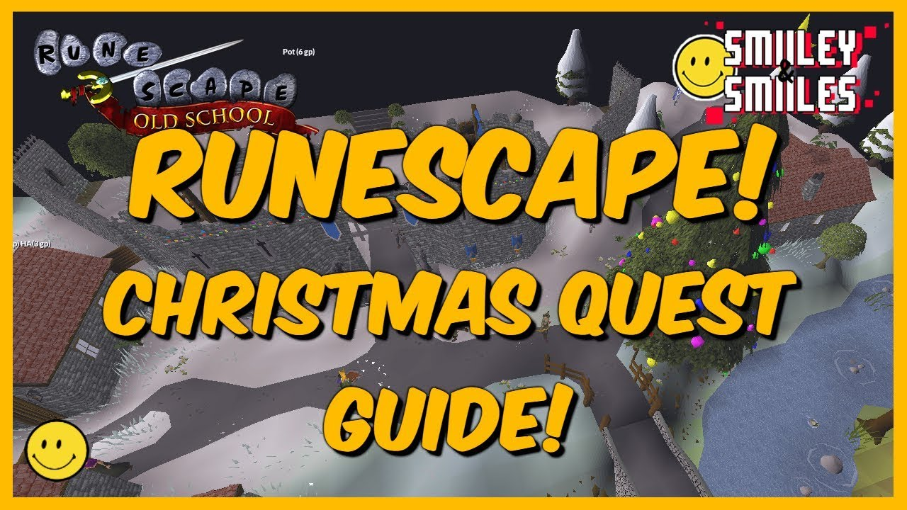 Old School Runescape Christmas Event Guide 2018!
