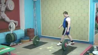 Бикмулин Илья, 11 лет вк 77 Толчок 40 кг