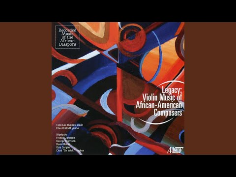 Five Violin Solos: Some Time I Feel Like a Motherless Child