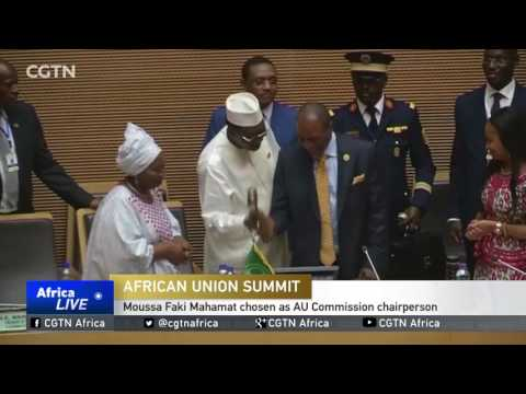 28th AU Summit: Moussa Faki Mahamat chosen as AU Commission chairperson