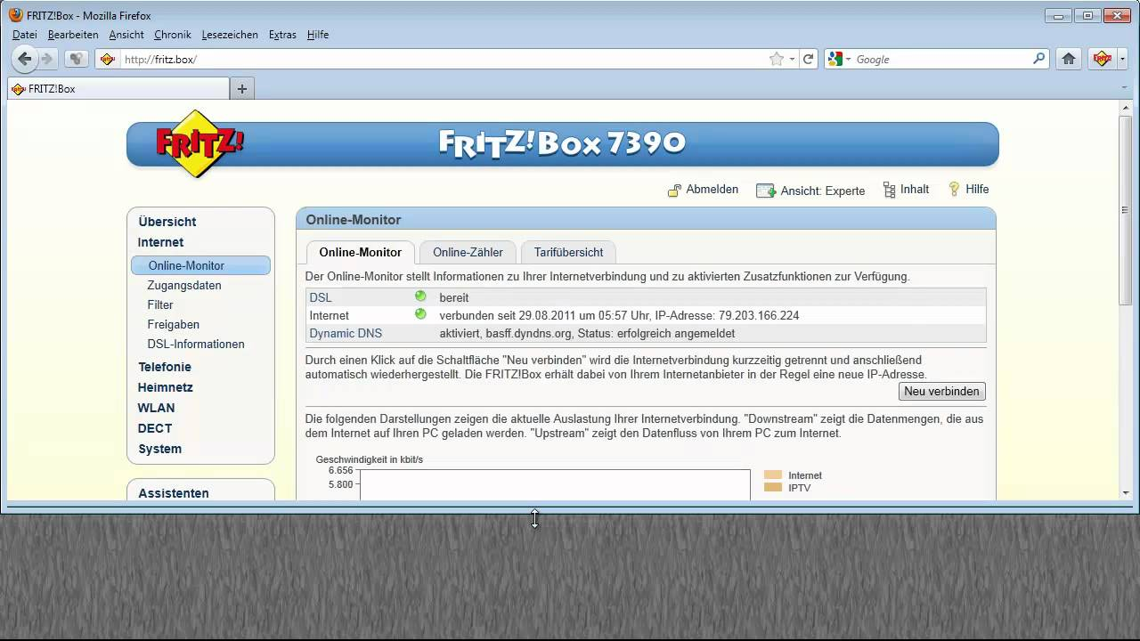 Computer Einrichten Portfeigabe Exposed Host Dmz In Avm Fritz!box 7390