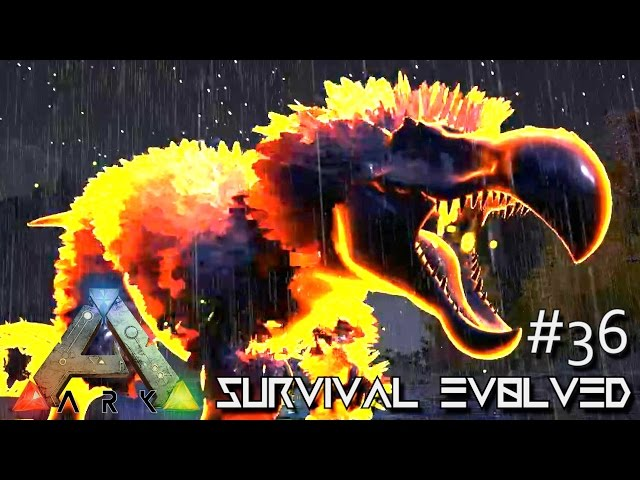 ARK: SURVIVAL EVOLVED - TAMED ORIGIN STRONGEST DINO EVER !!! E36 (MODDED ARK CENTER GAMEPLAY)