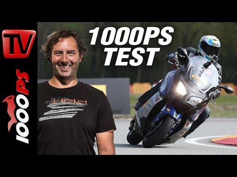 1000PS Test - Himmel und Hölle! Pirelli Angel Scooter und Diablo Rosso Scooter
