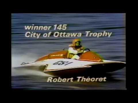 1974 FESTIVAL DU CANADA GOVERNOR GENERAL'S REGATTA (Hydroplanes & Tunnel Hulls)   OTTAWA - Canada