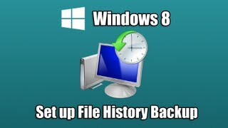 Set up File History Backup in Windows 8