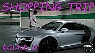 Shopping with a LOUD Supercar: Armytrix Audi R8