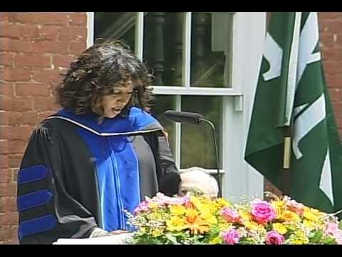 2014 Western Reserve Academy Commencement Speaker, Dr. Menna Demessie