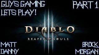 Diablo III: Lets Play Part 1