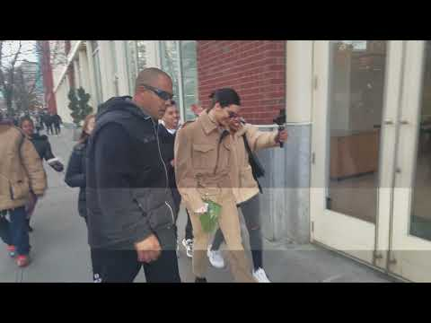 Kendall Jenner out and about in NYC with Lukkas Abbat