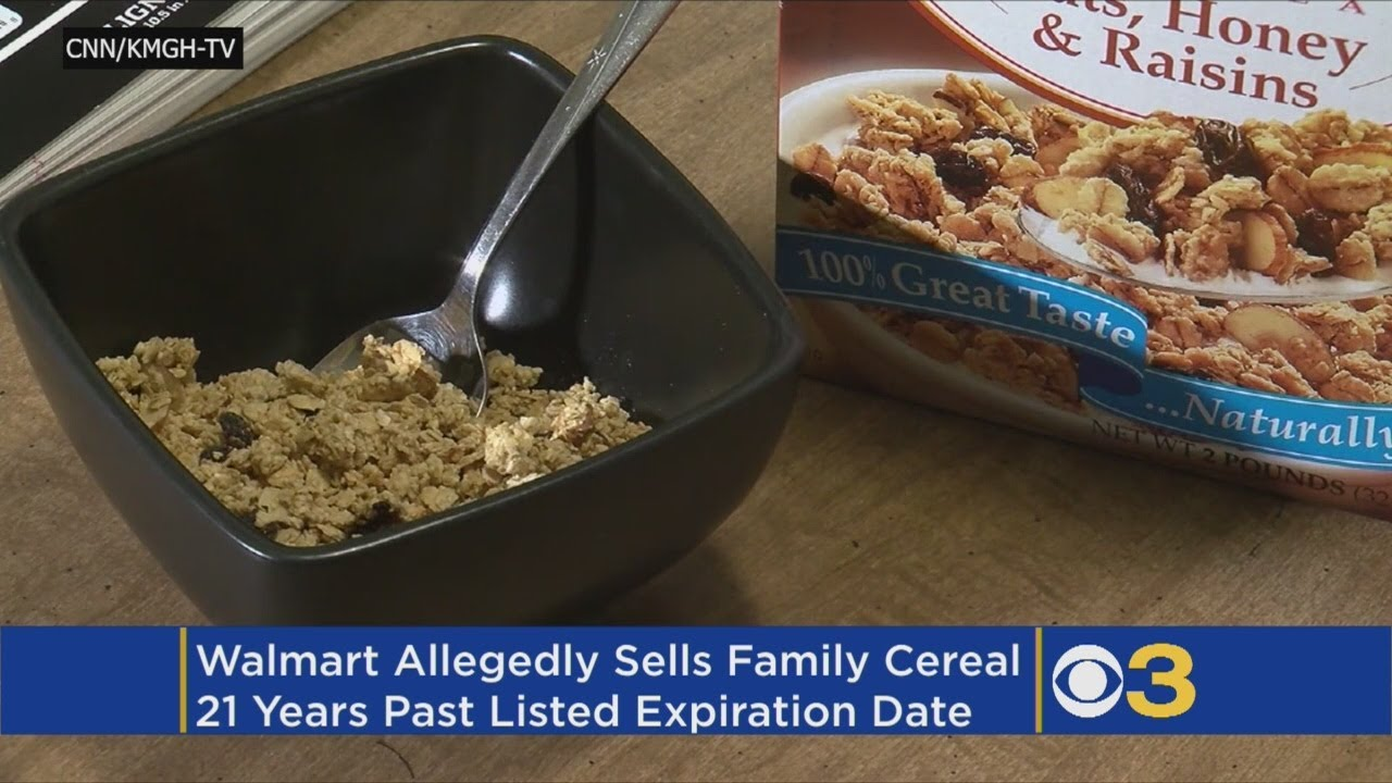 Family Claims They Bought Cereal From Walmart That Expired In 1997