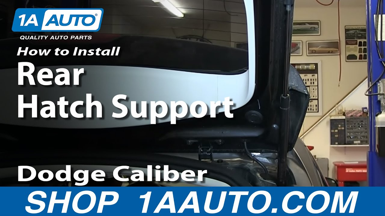 How To Install Replace Sagging Rear Hatch Support Pistons