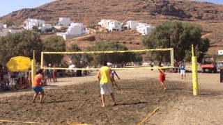 1o Τουρνουά Beach Volley Δυτικών Κυκλάδων  ''Κύθνια 2014'' (Τελικός Ανδρών)