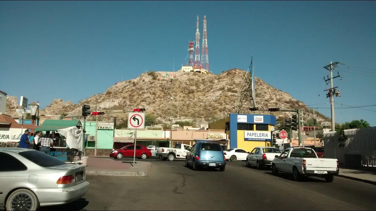 Hermosillo Sonora Mexico Cerro De La Campana Centro