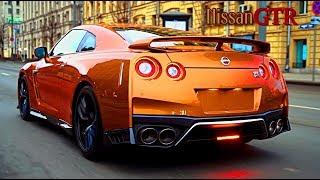 Самый быстрый Nissan в стоке. Moscow City.