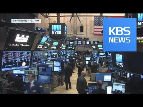 파월, 기준금리 인상 속도 조절 시사…뉴욕증시 급등 / KBS뉴스(News)