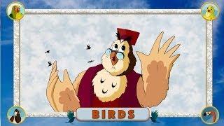 Multipedia of Birds. Part 1 (Уроки тетушки Совы на английском языке)