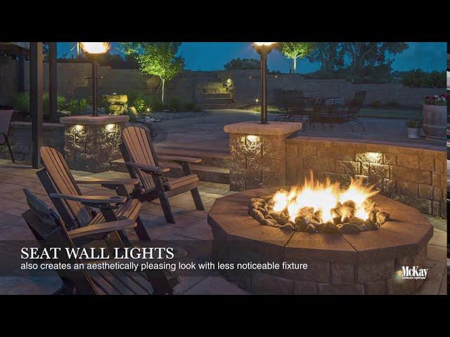 outdoor fire pit lighting ideas