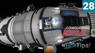 Kerbal Space Program [1.1.2] - Ep 28 -  7 Kerbals to Minmus Part 2 - Let
