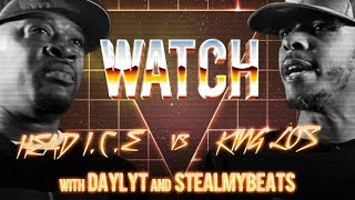 Download Video WATCH: HEAD I.C.E vs KING LOS with DAYLYT and STEALMYBEATS MP3 3GP MP4