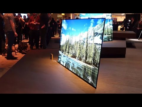 sony bravia a1 oled 4k sony kd 65a1 best tv 2018 youtube. Black Bedroom Furniture Sets. Home Design Ideas