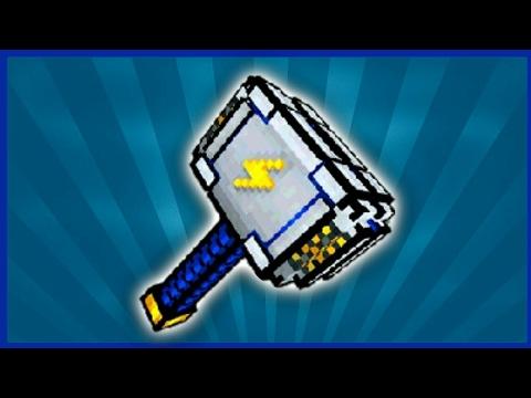 Обзор штормового молота || Pixel Gun 3d