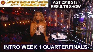 America's got talent Quarterfinals