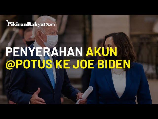 Mulai 20 Januari, Twitter dan Facebook akan Serahkan Akun @POTUS ke Joe Biden