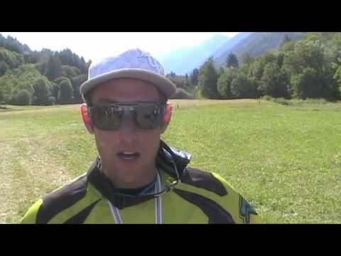 2010 Val di Sole World Cup DH - Marc Beaumont Interview