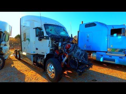 Copart Walk Around 11-23-19 + Semi Trucks, Trailers, AT&T