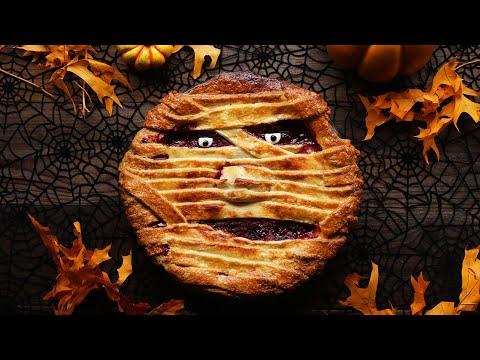 How To Make A Spooky Mummy Pie •Tasty