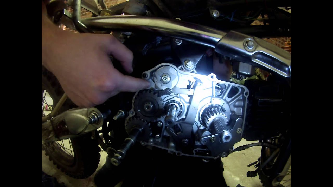 Shift Problems On Pitbike Youtube Motor Wiring Harness Pit Bike 110cc 125cc Lifan Loncin Zongshen Ssr