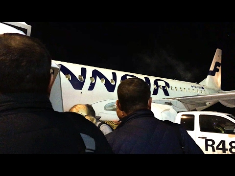 A 63 Mile Flight with Finnair! Helsinki to Tallinn Embraer 190