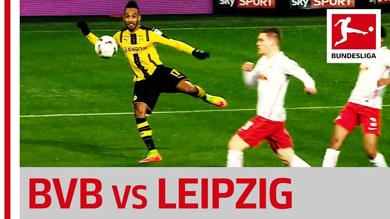 Download Borussia Dortmund vs. RB Leipzig - Dembele and Aubameyang Make The Difference