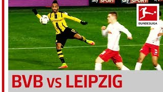 Borussia dortmund vs. rb leipzig - dembele and aubameyang make the difference